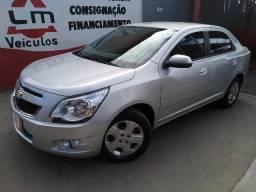 Chevrolet Cobalt LT 1.8 4P 15/15 Prata Completo