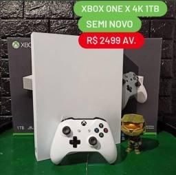 Xbox one X 4K de 1tb Com Garantia