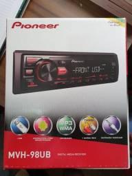 Rádio Pioneer MVH-98UB Novo