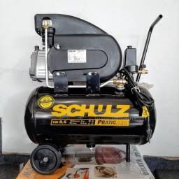 Compressor CSI 8,5 - 25Litros - 120Libras - 2HP - Schulz
