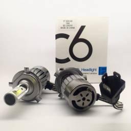 Lâmpadas Super Led c6 para Carros