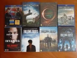 Lote barato de Blurays e DVDs - Preço promocional!