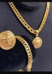 Conjunto grumet moeda antiga