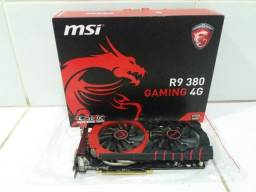Placa de vídeo MSI R9 380 Gaming 4G 4gb GDDR5 256bit