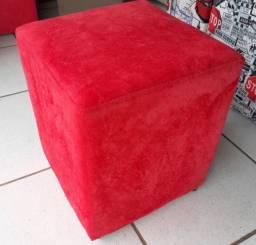 Puff quadradinho - tradicional - r$ 44,99 - unidade