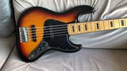 Baixo TJB5 jazz bass Tagima novo, zerado, na caixa com garantia. Excelente contrabaixo