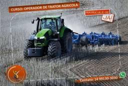Curso de operador de Trator Agrícola.