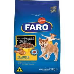 Ração Faro Filhote 25kg (PROMOÇÃO) Válido enquanto durar o estoque.