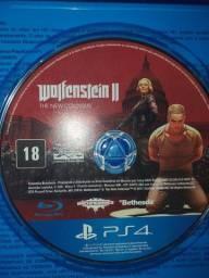 WOLFENSTEIN 2 PS4  troco