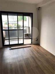 Apartamento à venda com 1 dormitórios em Vila madalena, São paulo cod:170-IM515296
