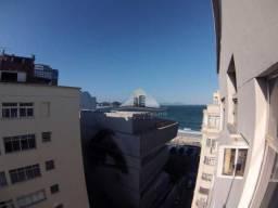 Conjugado vista lateral mar de Copacabana