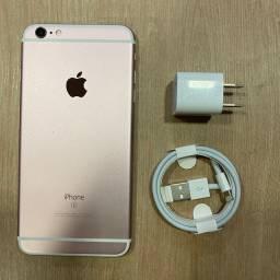 Loja física. Impecável como novo sem uso iPhone 6s PLUS 64gb todo original. Retira hoje!