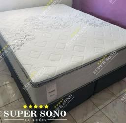 Conj Box Celestia Probel Queen Size 158x198 Mola Mola Ensacada A Pronta Entrega