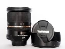 Lente Para Câmeras Nikon Tamron SP 24-70mm f/2.8 DI VC