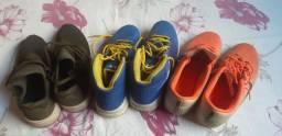 Tênis de marca e uma chuteira Nike obs: todos originais