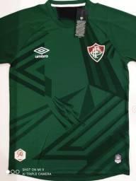 Camisa Fluminense Goleiro Verde Umbro 20/21 - Tamanho: M