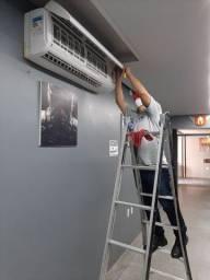 Limpeza e manutenção em Ar condicionado