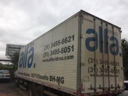 Vendo baú de caminhão/ano 2016