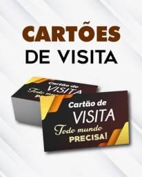Cartão De Visita 1000 Un Colorido Frete Grátis Correios