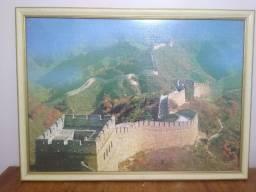 Quadro Quebra-cabeça Muralha da China