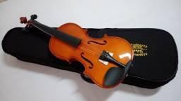 Violino 4/4 Jahnke - NOVO- Pronta Entrega -Parcelo 12x cartão