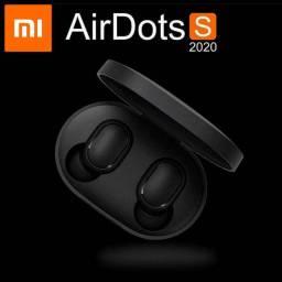 Fones de Ouvido Xiaomi Redmi AirDots S 2020 Lançamento Fone Bluetooth com modo Gamer