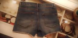 Shorts Jeans Menina Tam.12