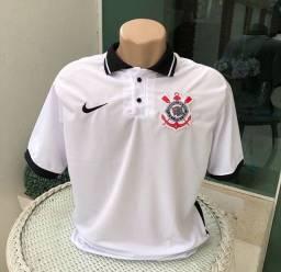 Camisa Corinthains - Branca