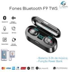Melhor que o Xaiomi Fone Bluetooth F9 TWS Touch Display Led