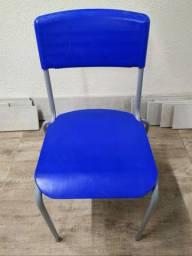 Cadeira ferro/plástico