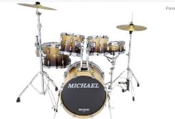 Bateria Acústica Michael Classic Lacquer