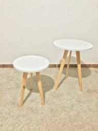 Mesa com pé palito