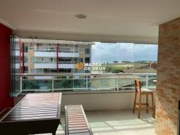 Apartamento no Porto das Dunas 107 m², 3 Suítes, 1 Vaga, Vista Mar, Porteira Fechada