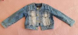 Jaqueta jeans infantil menina 2 anos