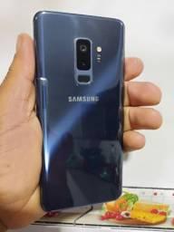 Samsung s9 plus zerado com tudo