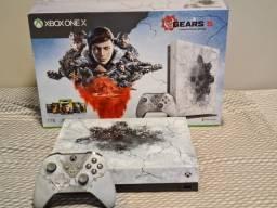 Para sair rápido - Xbox One X Limited Edition Gears 5 - 1 TB