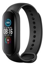 Relógio Smartwatch bracelete Mi Band 5 Lançamento