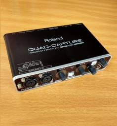 Interface Roland Quad-Capture