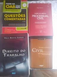Livros de Direito (diversos)