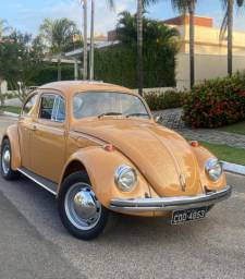 VW fusca 1978 1.3 placa preta