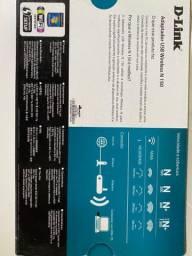 Adaptador wireless Dlink DWA-125 150 mpbs Anatel
