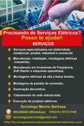 Técnico de elétrica credenciado Crea-RJ (Residencial, Predial, Comercial e Industrial)