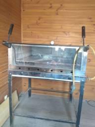 Forno refratário industrial a gás 90x90
