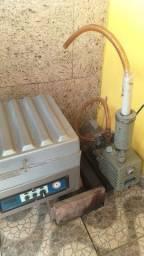 Máquina de vácuo usada