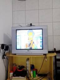 TV PHILCO (tubo)+convensor+antena 20 polegadas