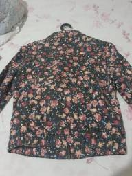Jaqueta jeans colorida
