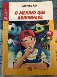 Livro O Menino Que Adivinhava - Marcos Rey (Coleção vaga-lume)