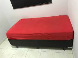 Cama box solteirão 1,08x1,98 ultra flex