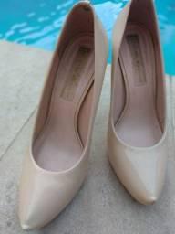 Sapato scarpin bege