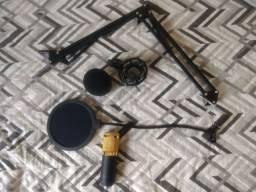 Kit Microfone Condensador BM800